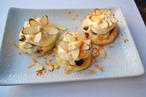 White Chocolate Orange Cookies with Sweet Ricotta Cream, Modern Honey
