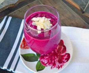 Vibrant Pitaya Smoothie, Modern Honey