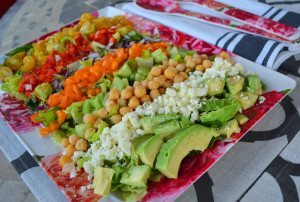 Color Me Pretty Salad, Modern Honey