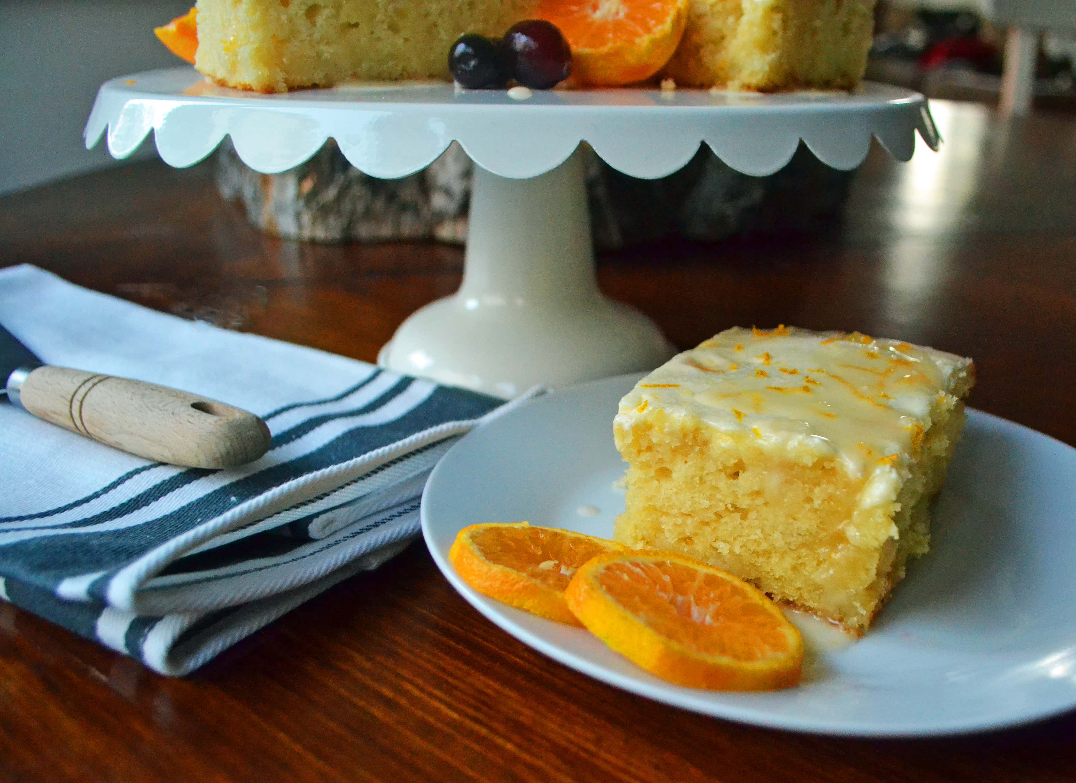 Orange Roll Cake, Easy Orange Roll Breakfast Cake, Easy Orange Roll Cake