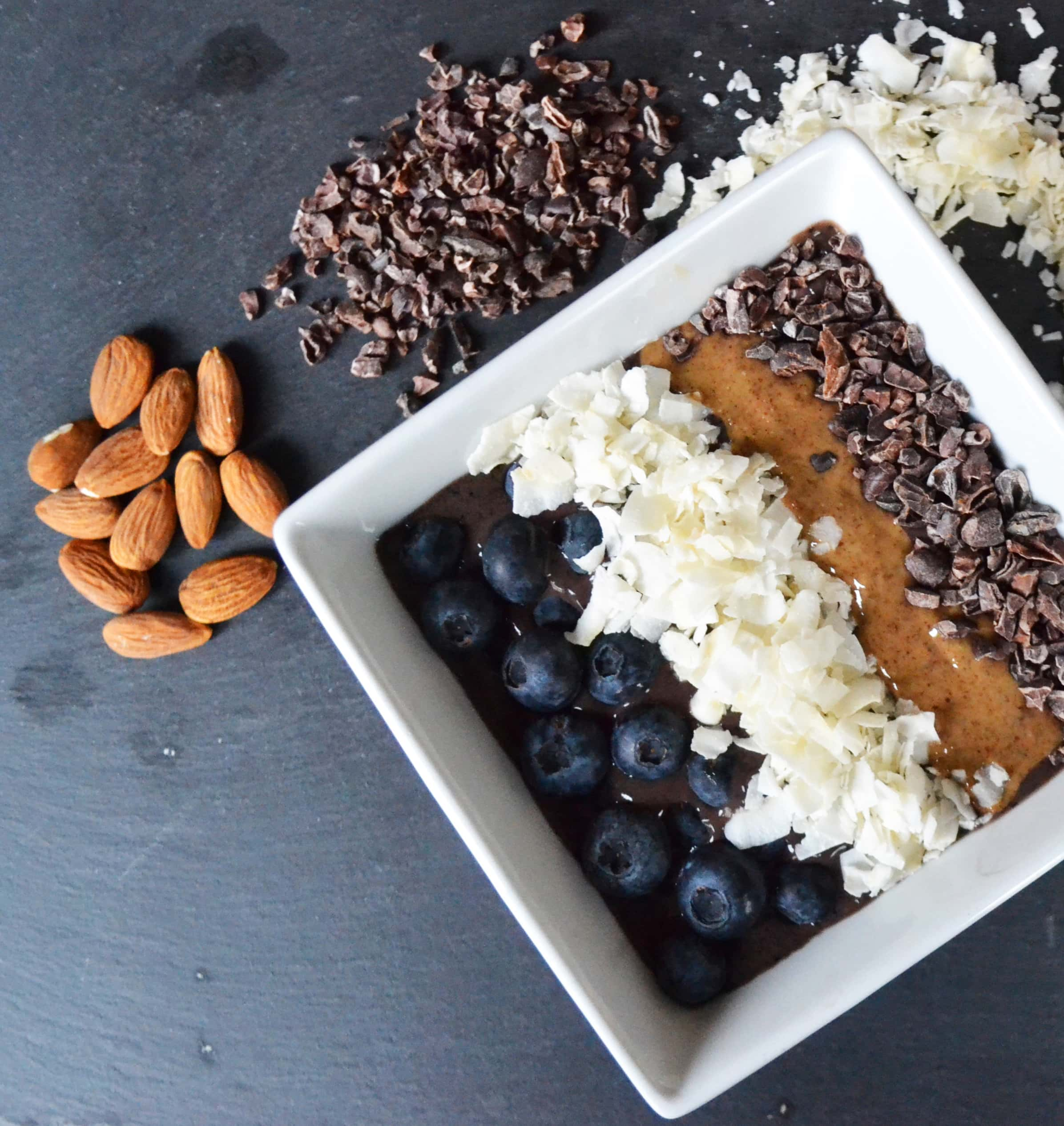 Antioxidant Power Acai Smoothie Bowl by Modern Honey - www.modernhoney.com