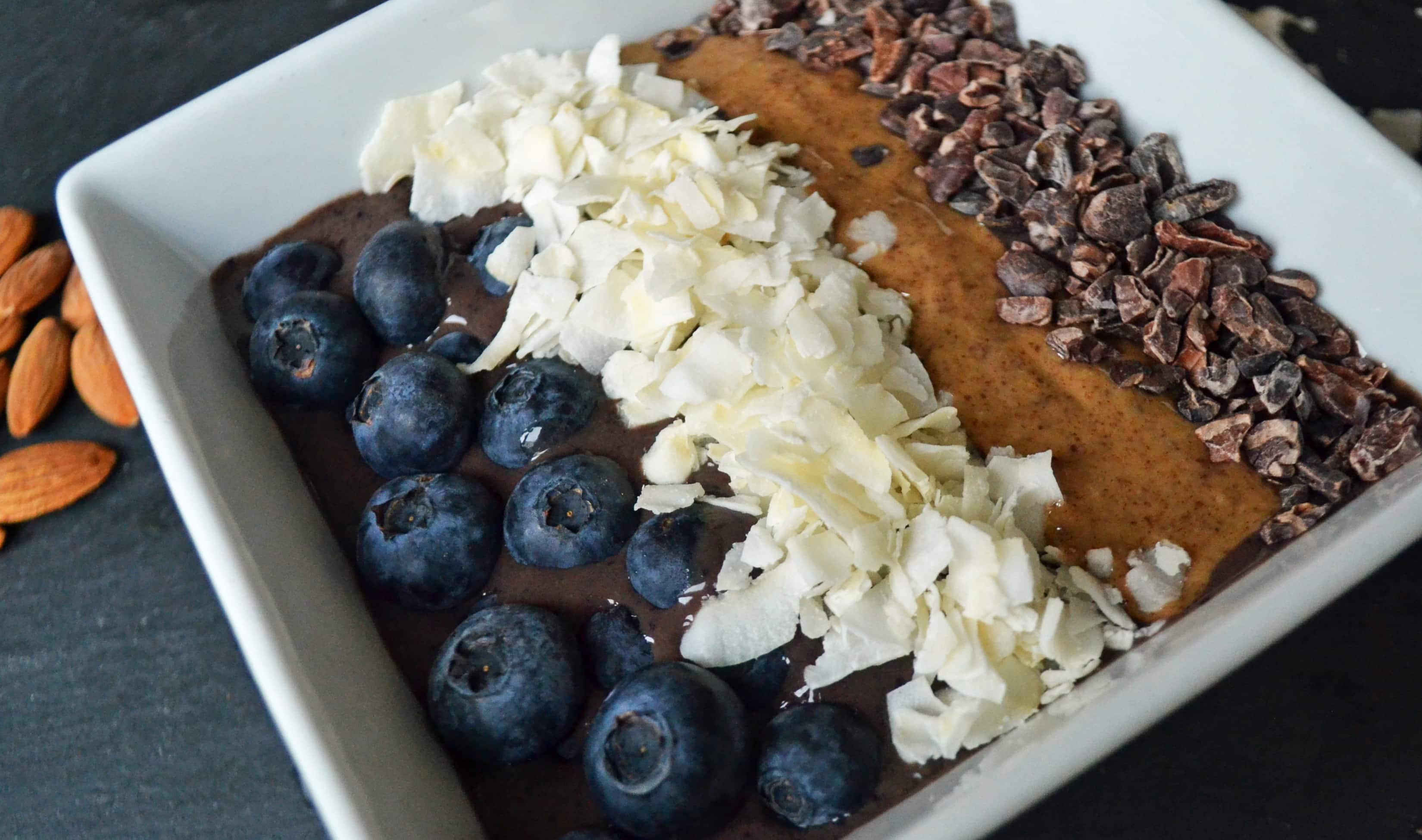Antioxidant Power Acai Smoothie Bowl by Modern Honey - www.modernhoney.com