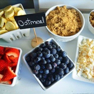 The Oatmeal Love Toppings Bar
