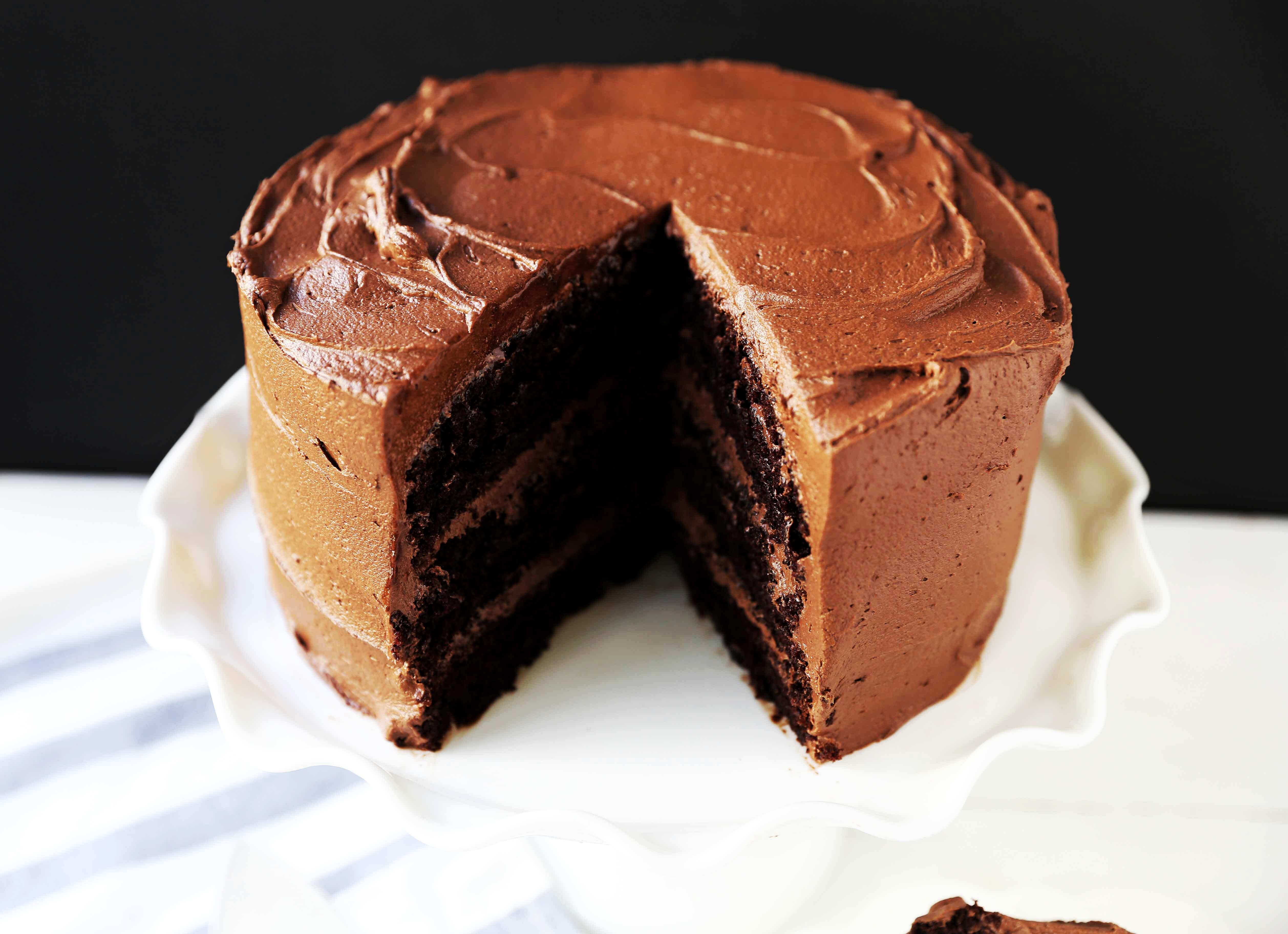 The Best Chocolate Cake Recipe How To Make Perfect Homemade