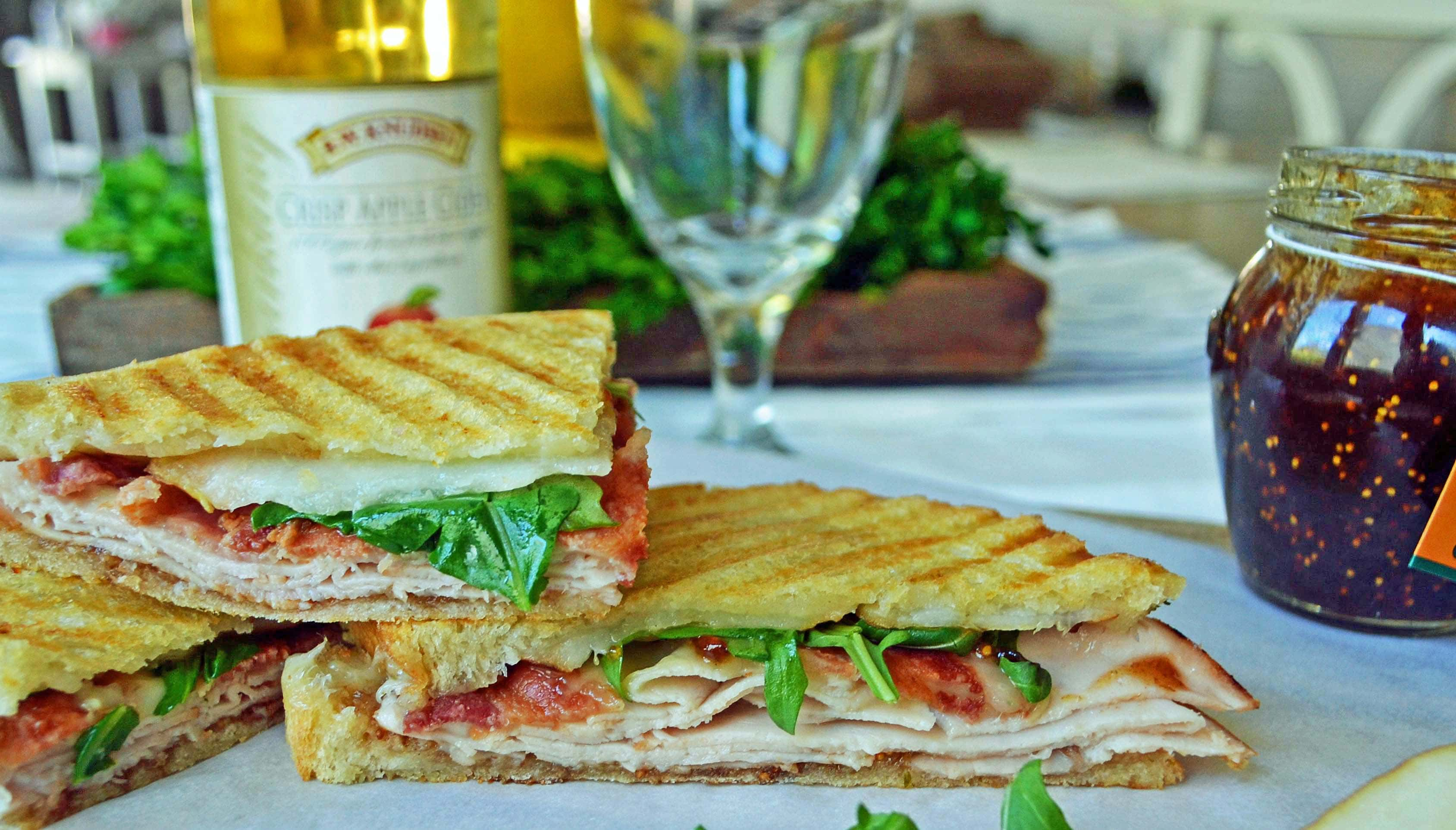 Mrs. Fancy Pants Turkey Bacon Panini