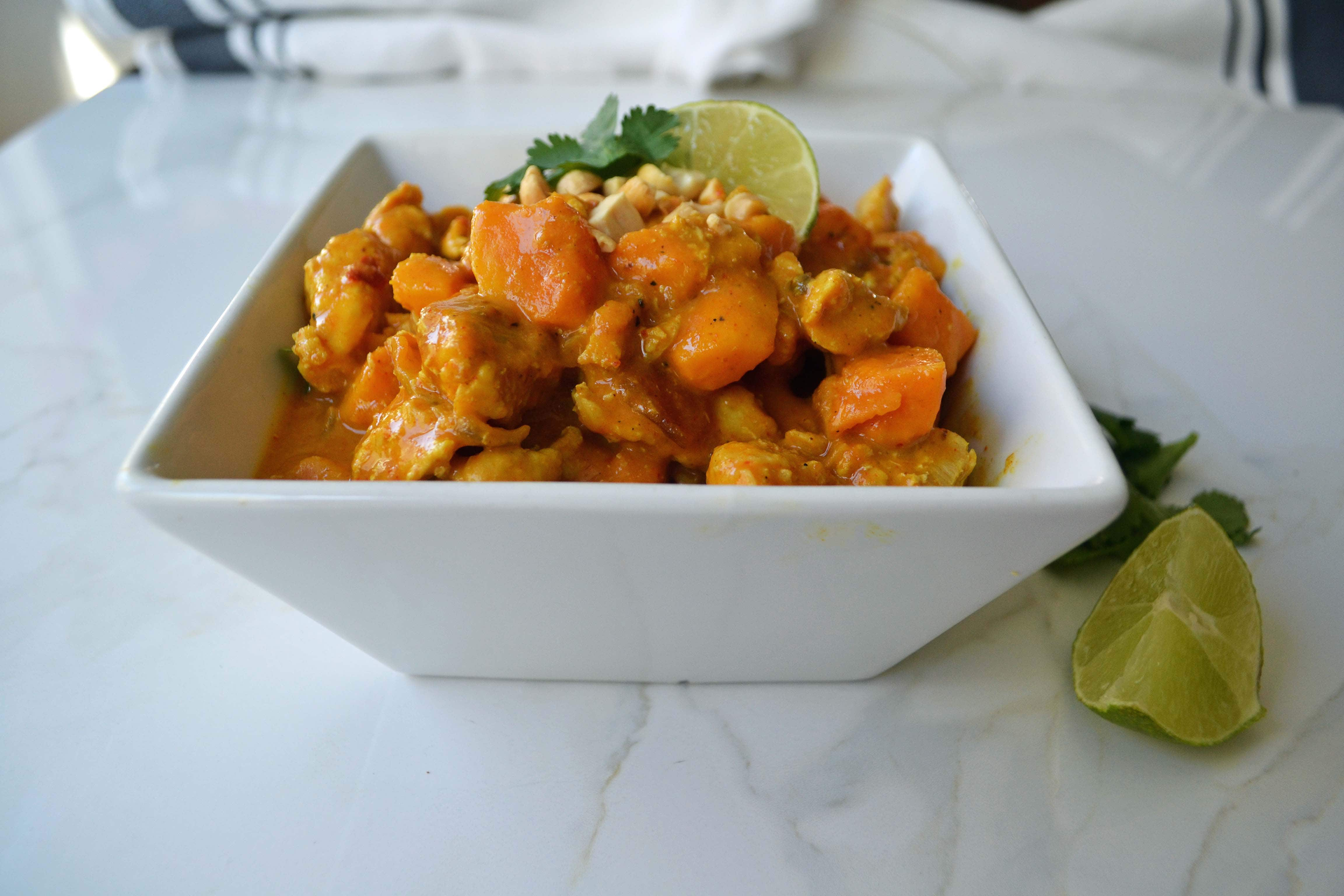 Chicken Sweet Potato Curry  by Modern Honey - www.modernhoney.com