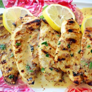 Lemon Honey Dijon Grilled Chicken by Modern Honey