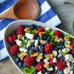 All American Nuts and Berries Salad by Modern Honey l www.modernhoney.com
