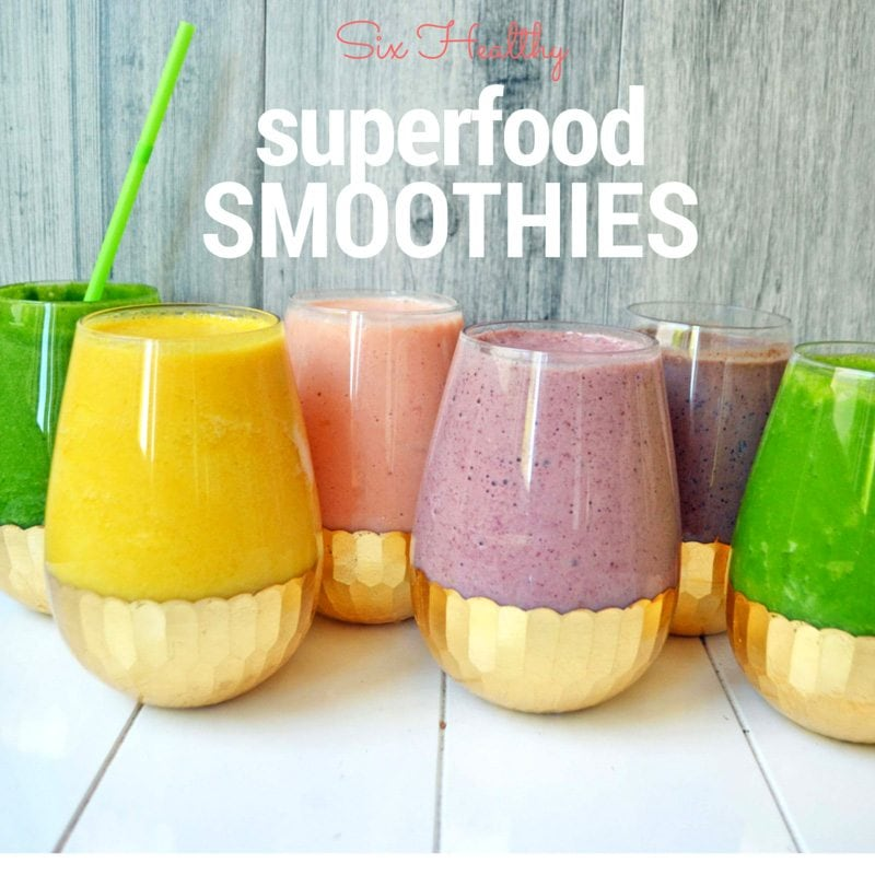 6 Healthy Superfood Smoothie Recipes