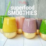6 Healthy Superfood Smoothies by Modern Honey - www.modernhoney.com