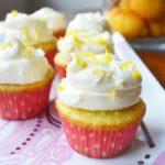 Lemon Cupcakes by Modern Honey - www.modernhoney.com