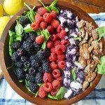 Berry Pecan Salad by Modern Honey - www.modernhoney.com