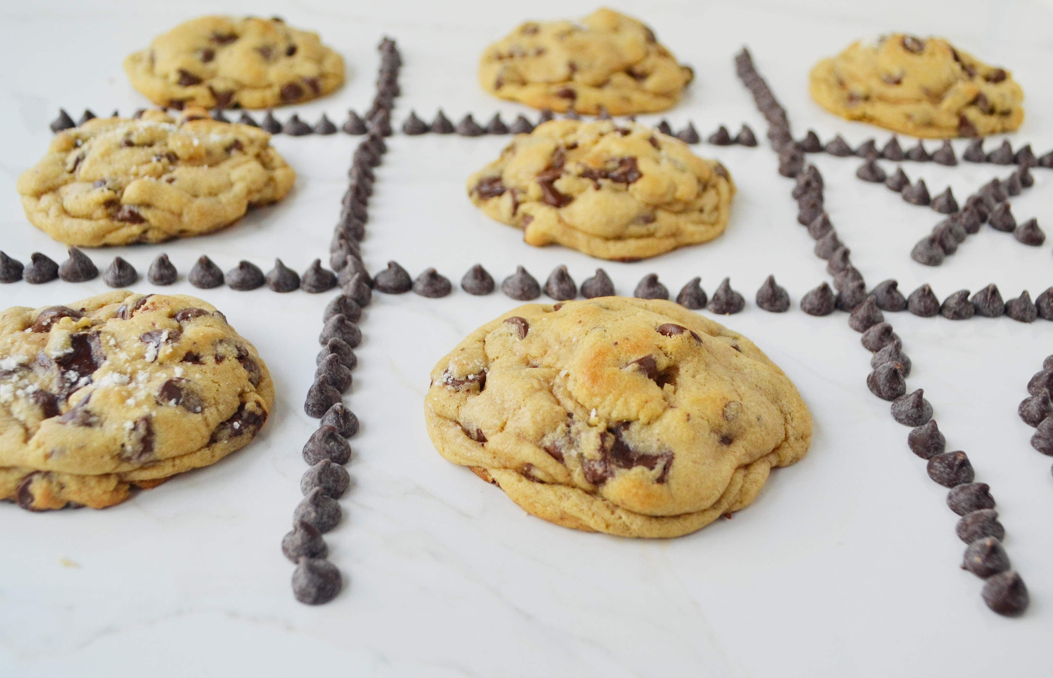 Ultimate Chocolate Chip Cookies. Secrets to make the perfect chocolate chip cookie.