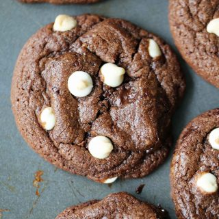 Hunka Hunka Triple Chocolate Cookies