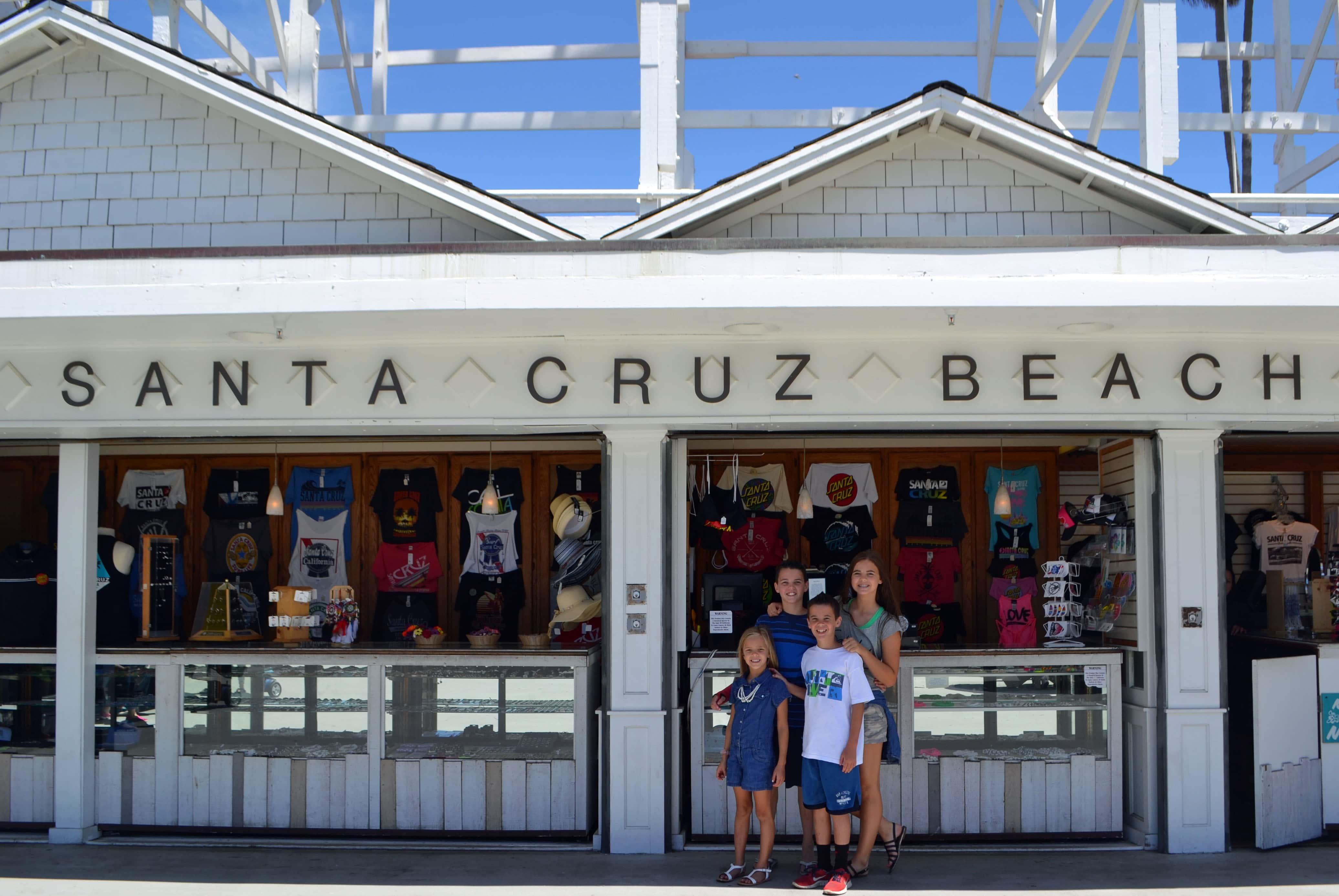Santa Cruz California Pacific Highway 1 Road Trip Guide by Modern Honey. www.modernhoney.com