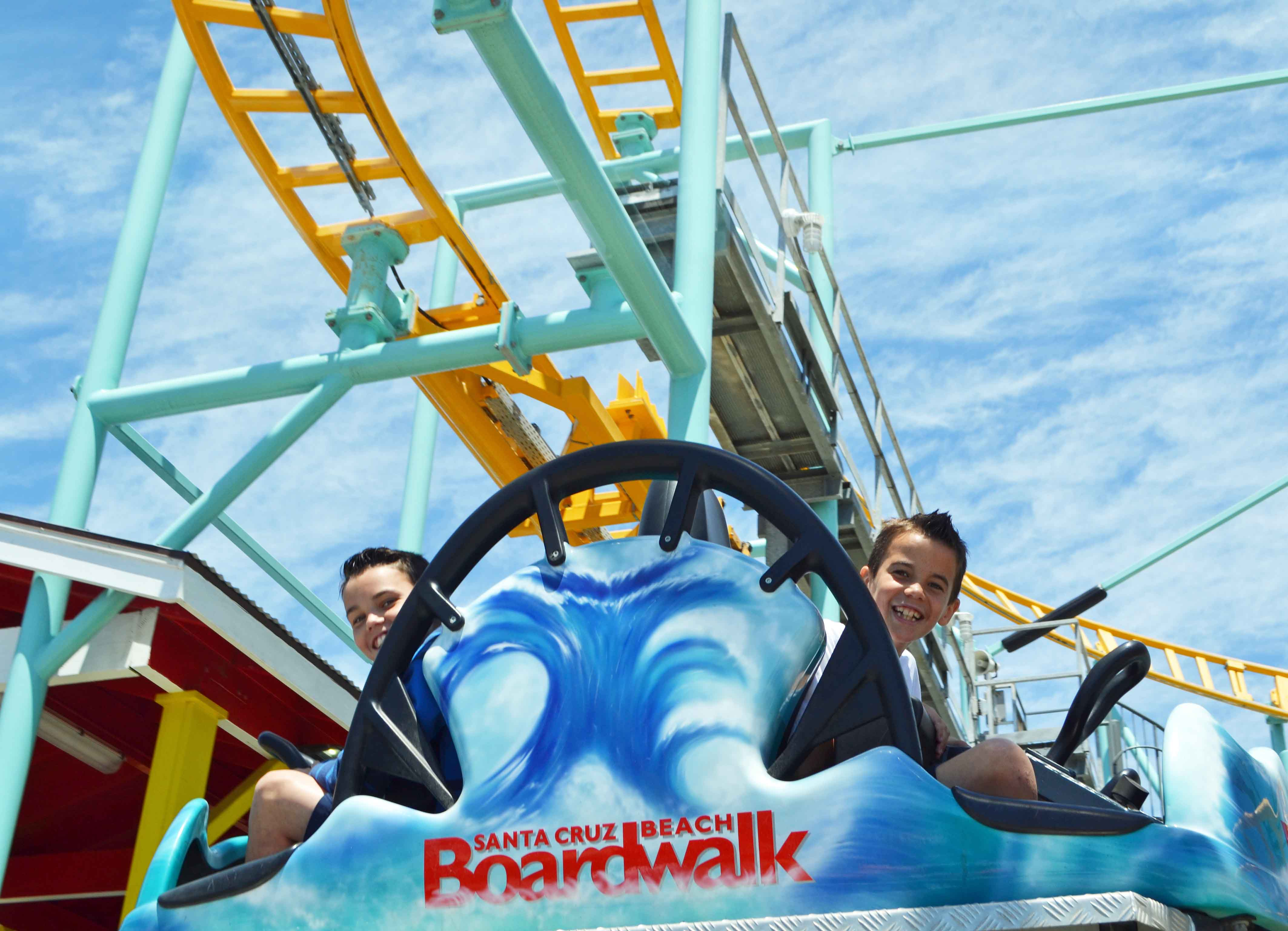 Santa Cruz Boardwalk California Pacific Coast Highway 1 Road Trip Guide