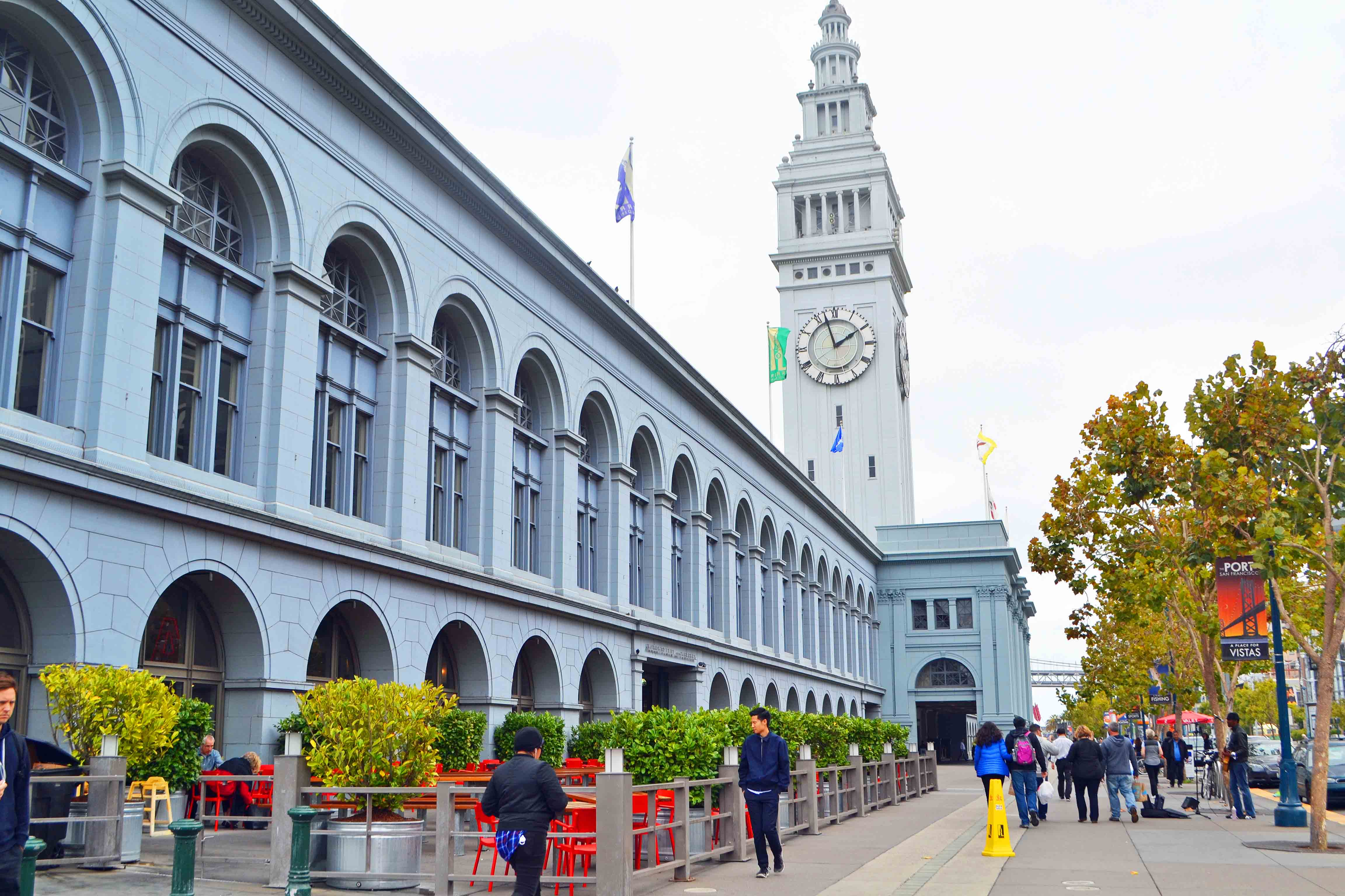 California Pacific Coast Highway 1 Road Trip Guide -- San Francisco Ferry Marketplace