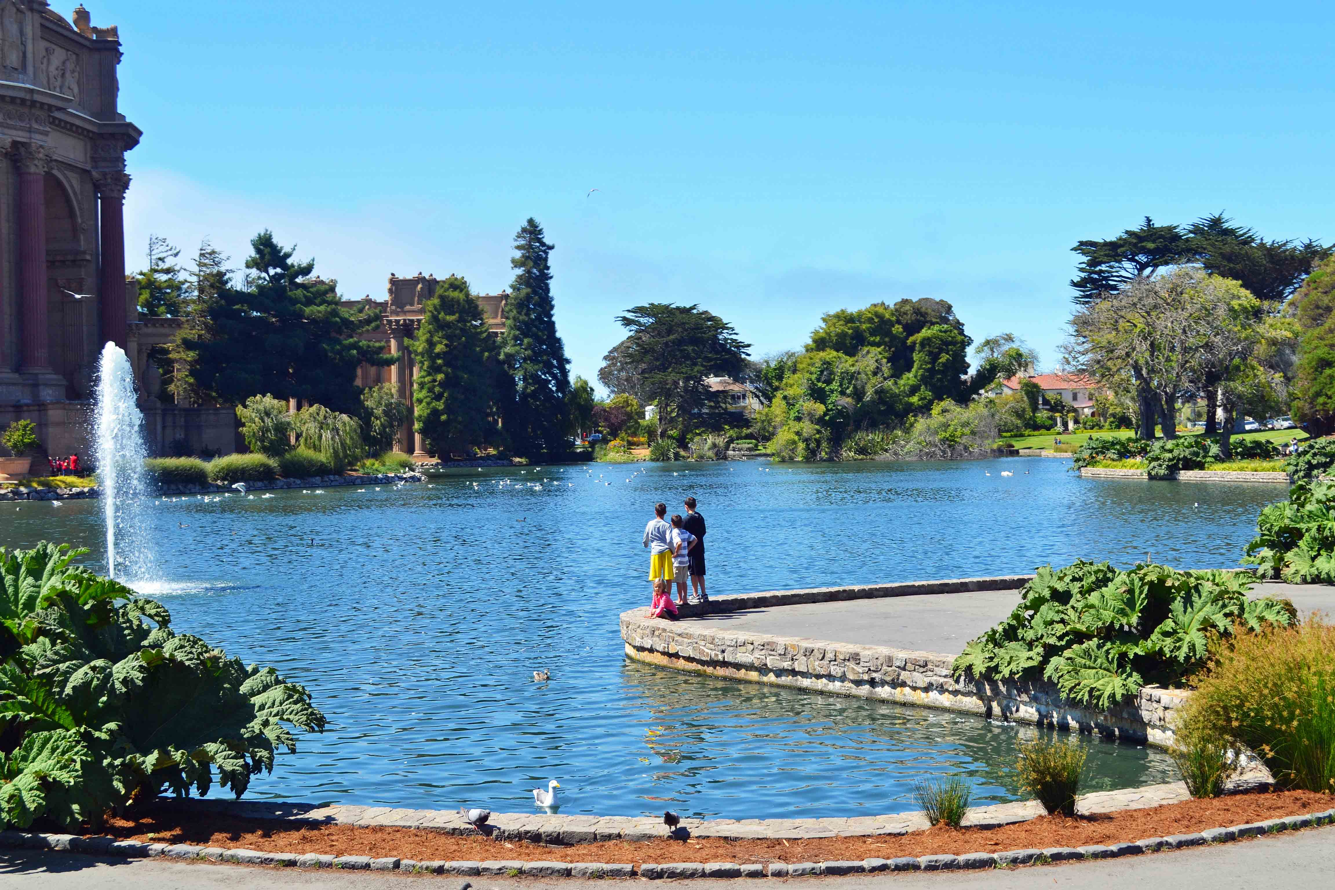 Palace of Fine Arts California Pacific Highway 1 Road Trip Guide