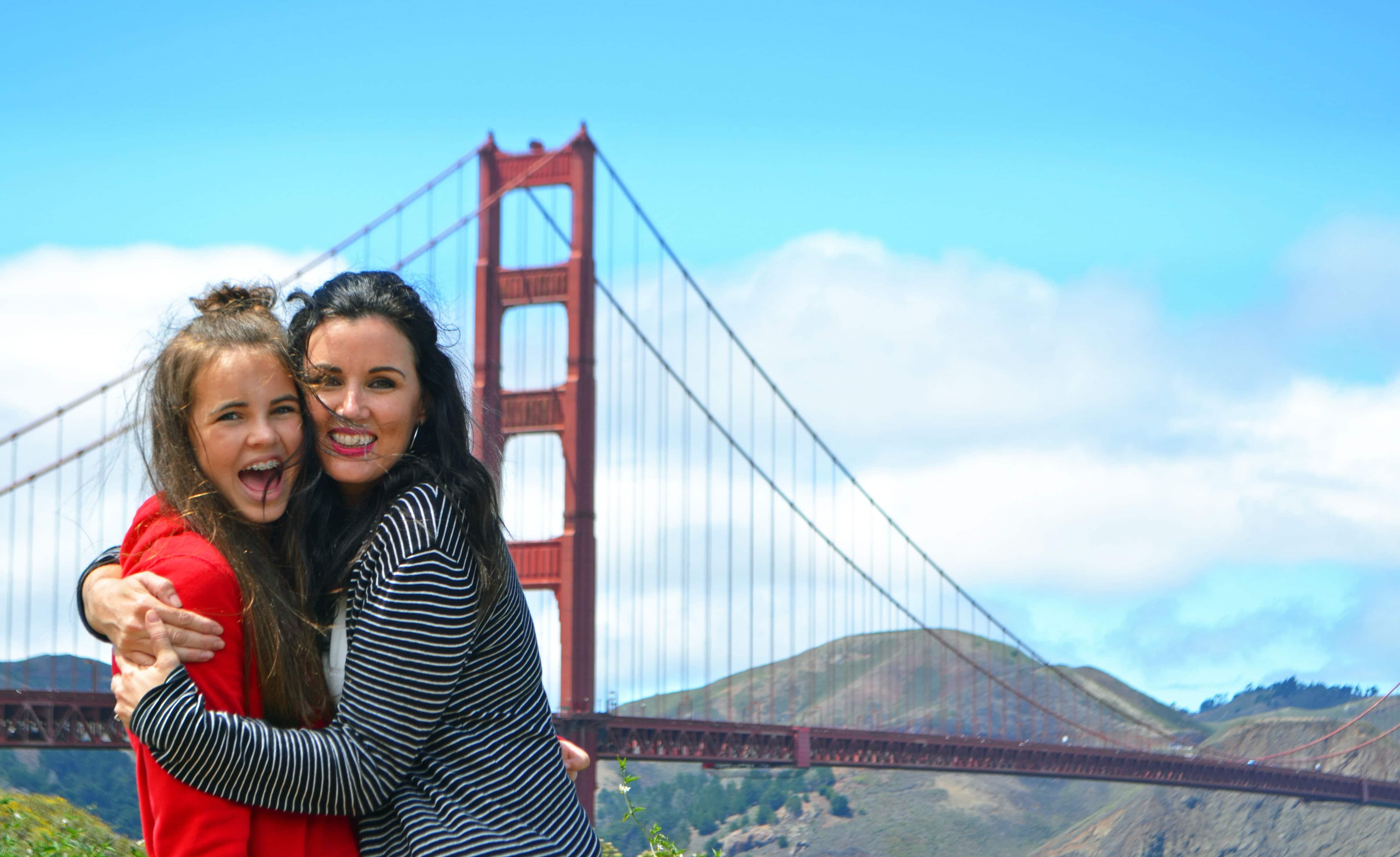Golden Gate Bridge San Francisco California Pacific Coast Highway 1 Road Trip