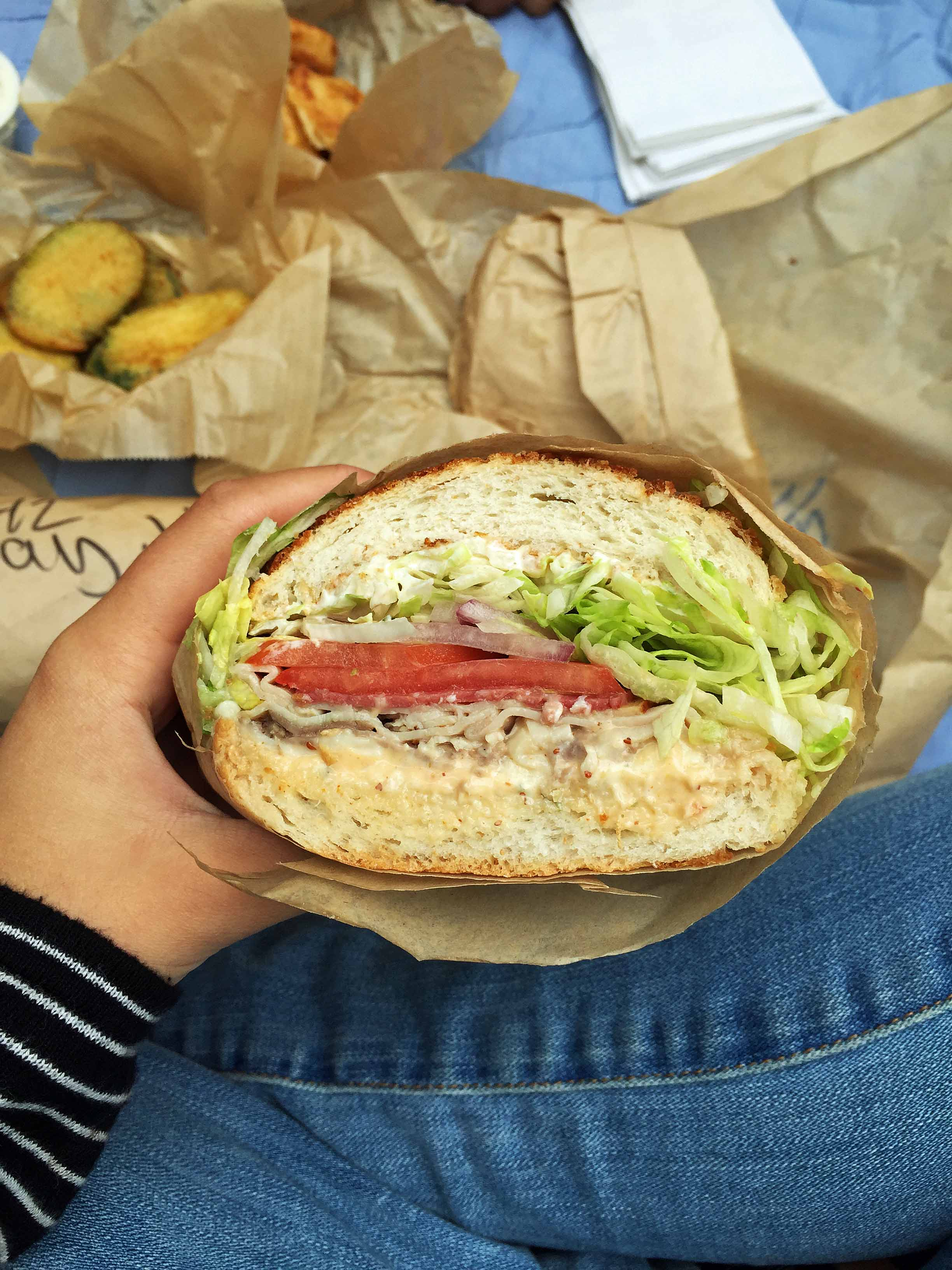 Ike Sandwiches Best Food on Pacific Coast Highway Road Trip