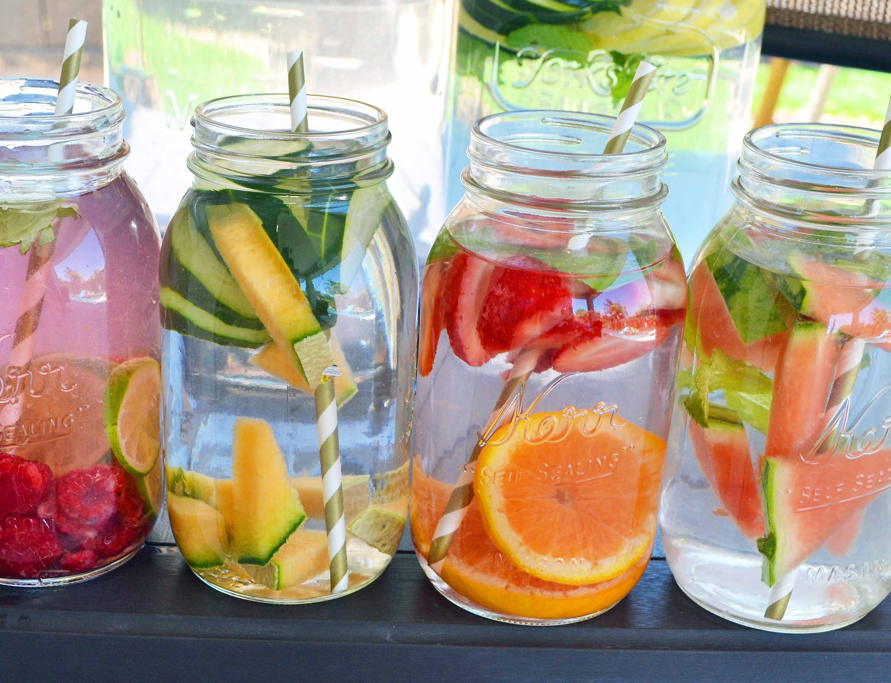 "Whether you are searching for ""get rid of belly fat or back fat"" or want to flush out Toxins from your Body, 'Detox Water' is the best solution of it, Also called Infused water, fruit flavored water, or fruit infused water."