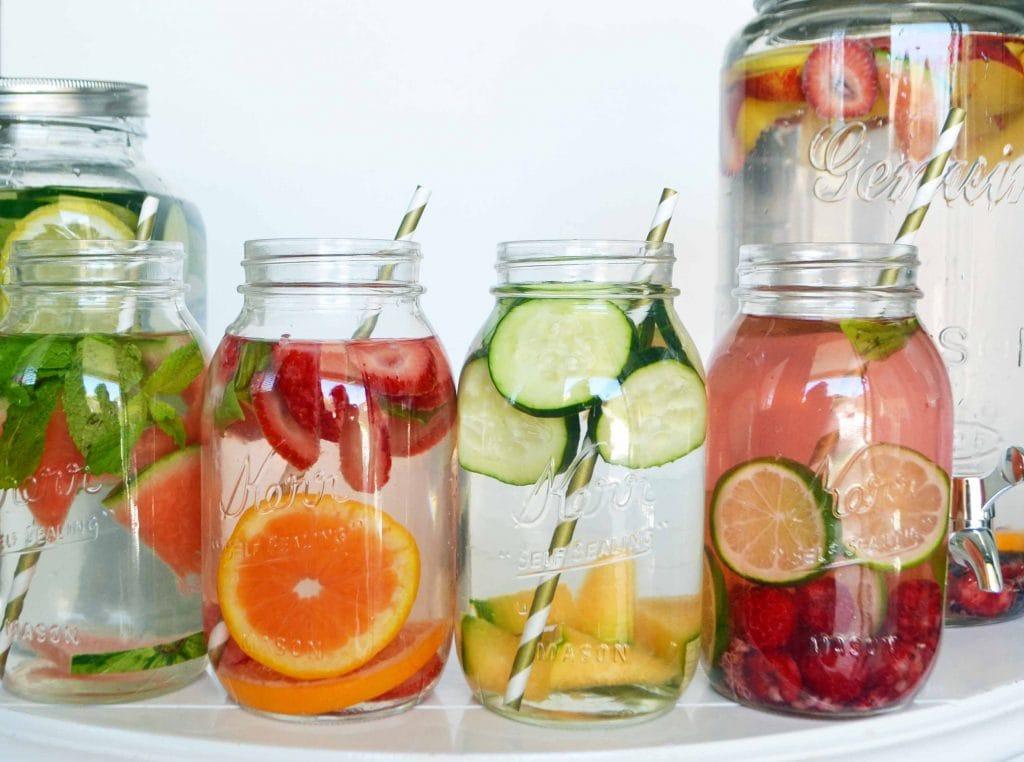 Spa Fruit Infused Detox Water – Modern Honey