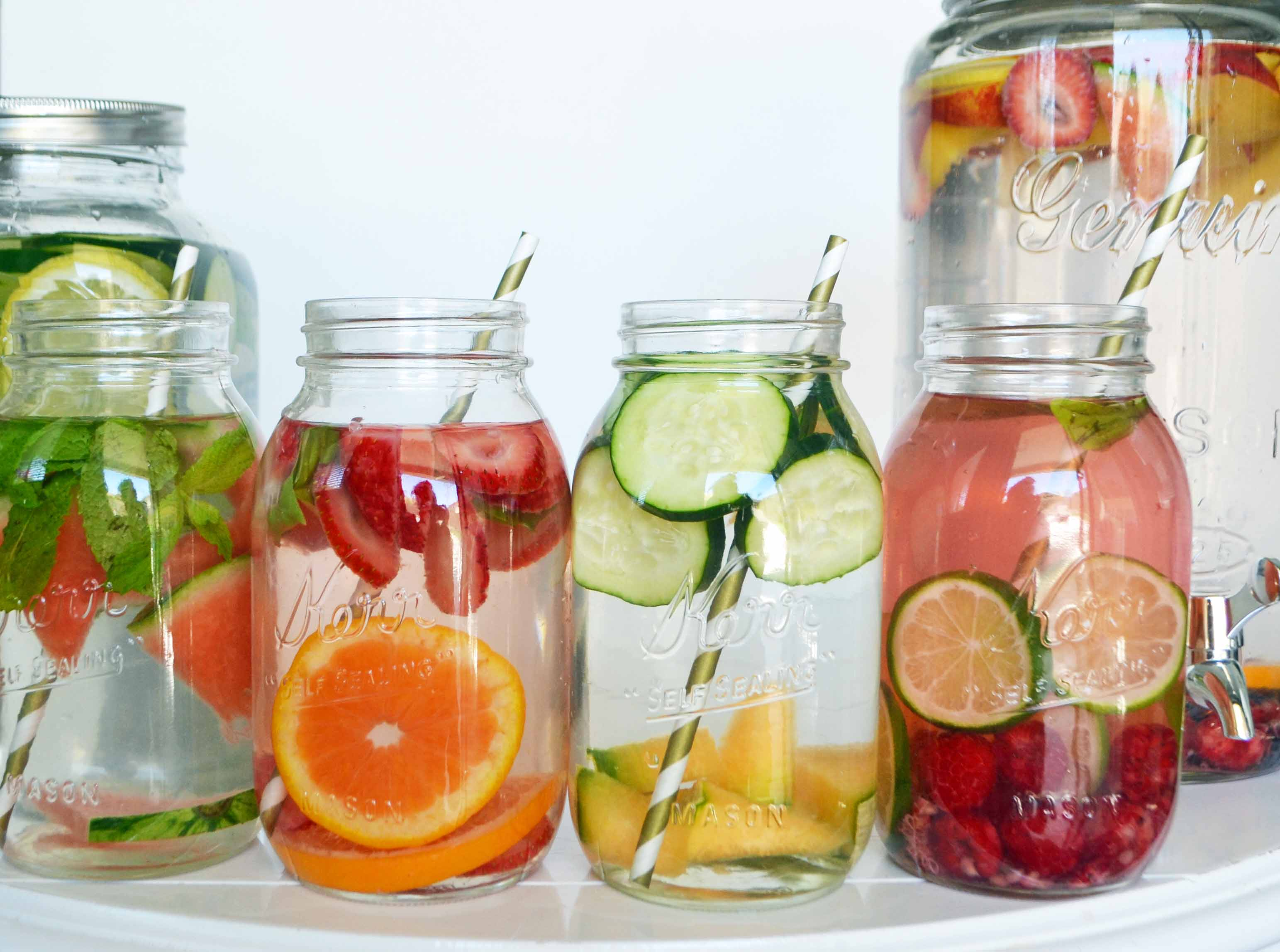 ultimate fruit infused water recipes