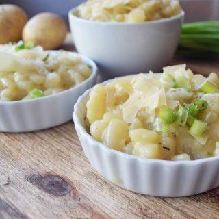Parmesan Potato Risotto