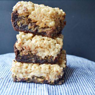 Bake Sale Trifecta Bars by Modern Honey l www.modernhoney.com