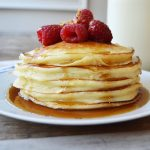 Sweet Cream Ricotta Pancakes by Modern Honey l www.modernhoney.com