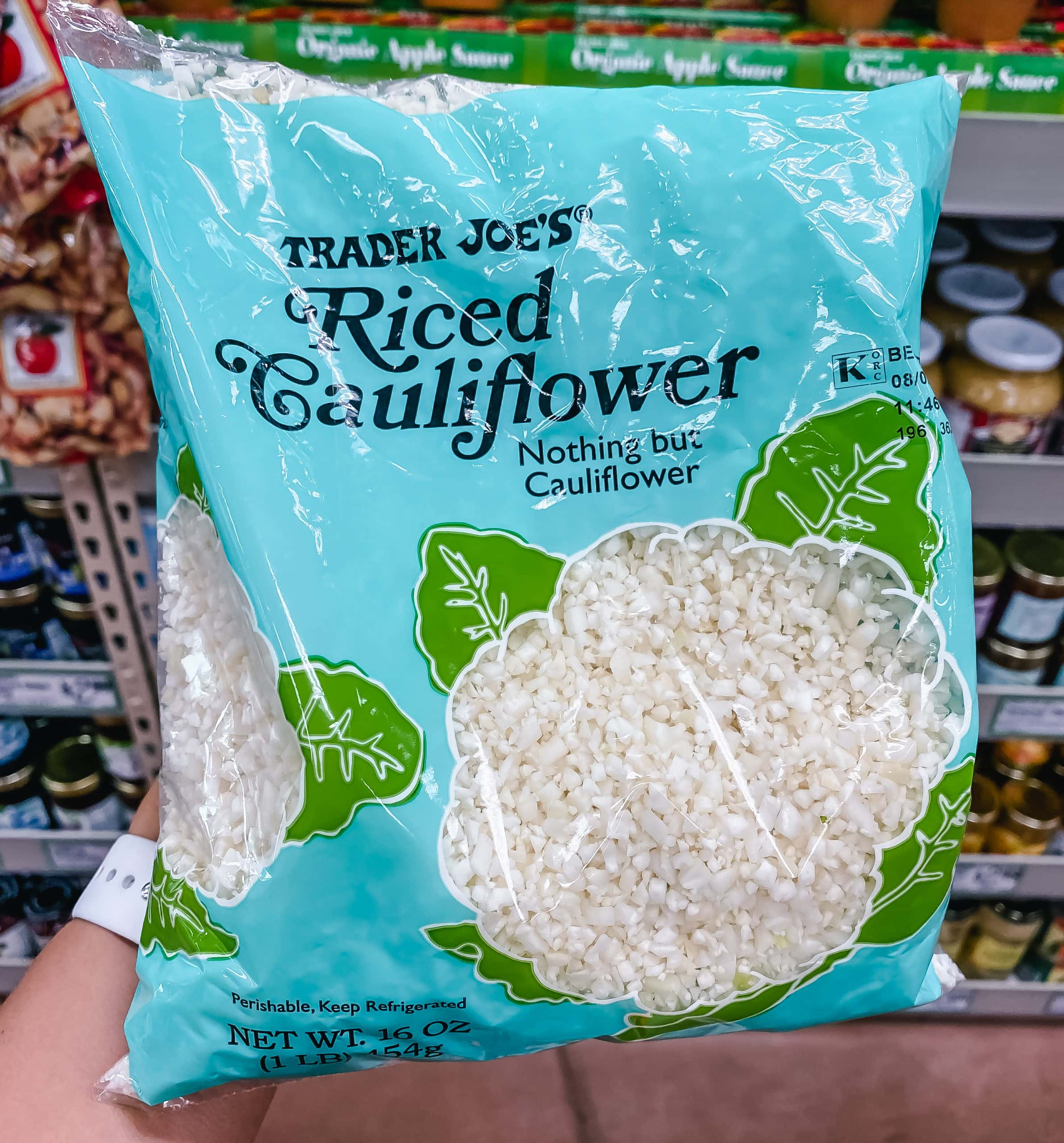 Riced Cauliflower from Trader Joe's. Best Things to Buy from Trader Joe's.