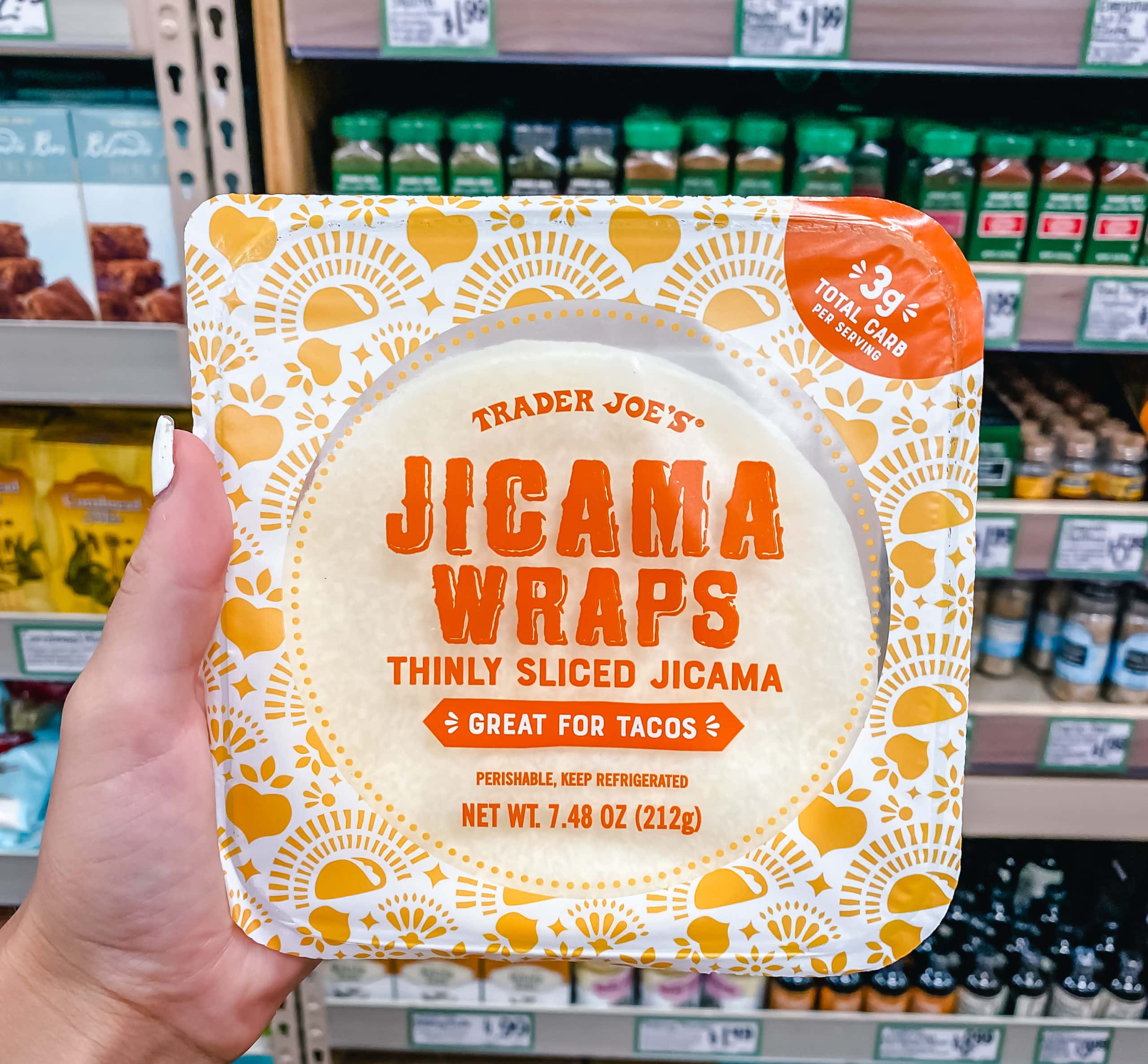 Jicama Wraps from Trader Joe's. The Best Foods to Buy from Trader Joe's.