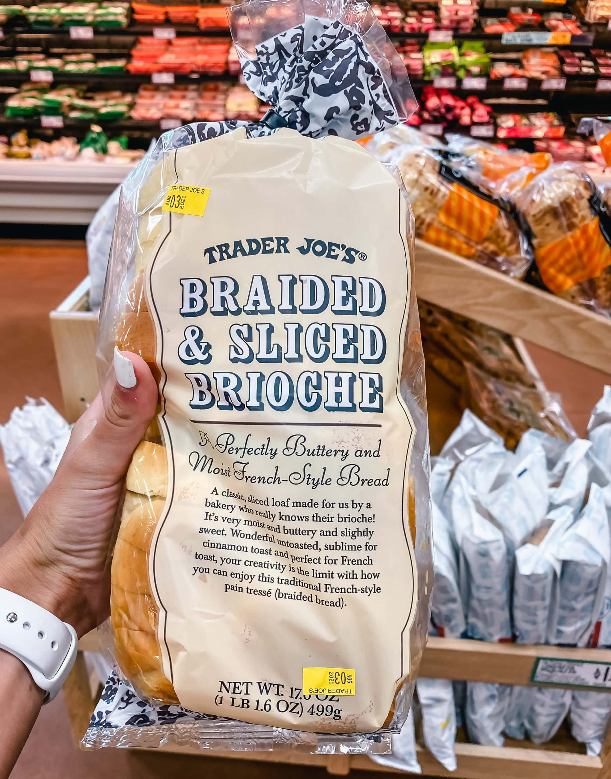 Braided and Sliced Brioche from Trader Joe's. The Best Foods to Buy from Trader Joe's.