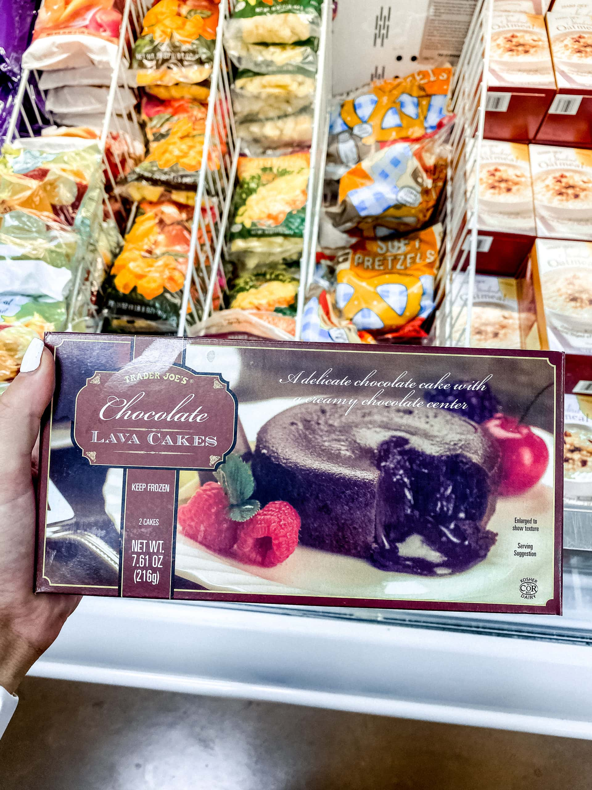 Chocolate Lava Cake from Trader Joe's. Best Foods to Buy from Trader Joe's.
