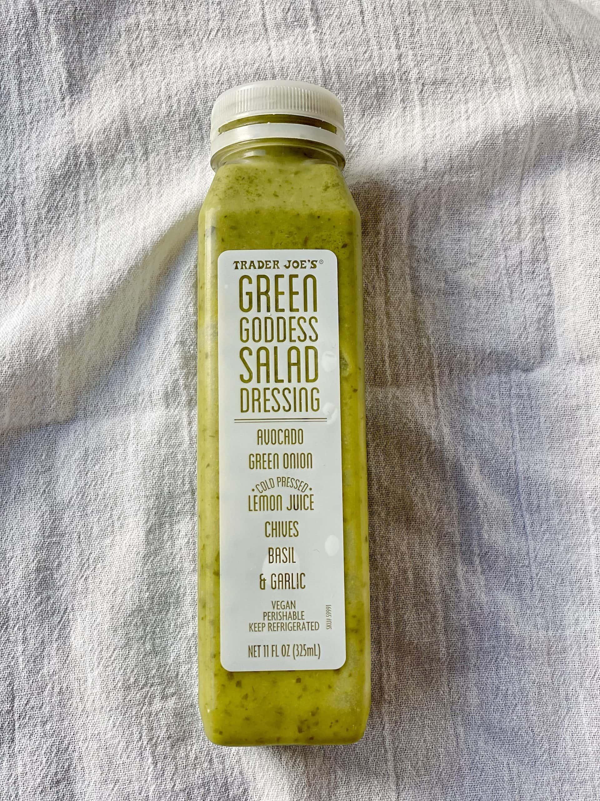 Green Goddess Salad Dressing from Trader Joe's. The Best Foods to Buy at Trader Joe's.