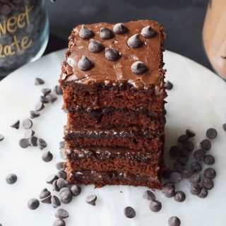 Best Dang Chocolate Texas Sheet Cake