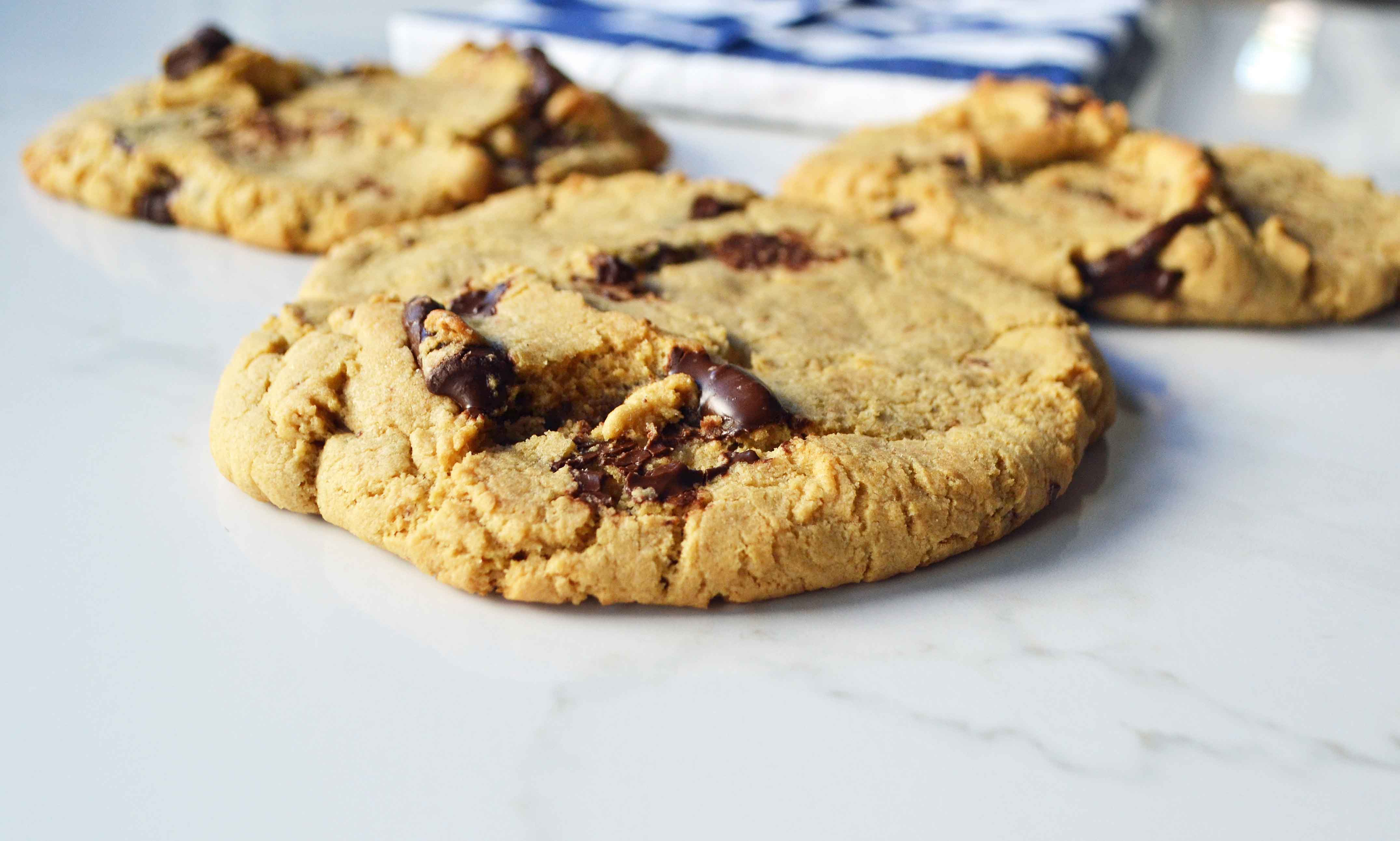 Lenny and Larry's Protein Cookie Copycat by Modern Honey l www.modernhoney.com 16 grams of protein per cookie