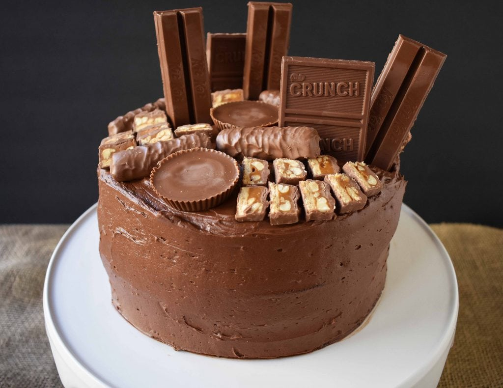 Milky Way Candy Bar Cake