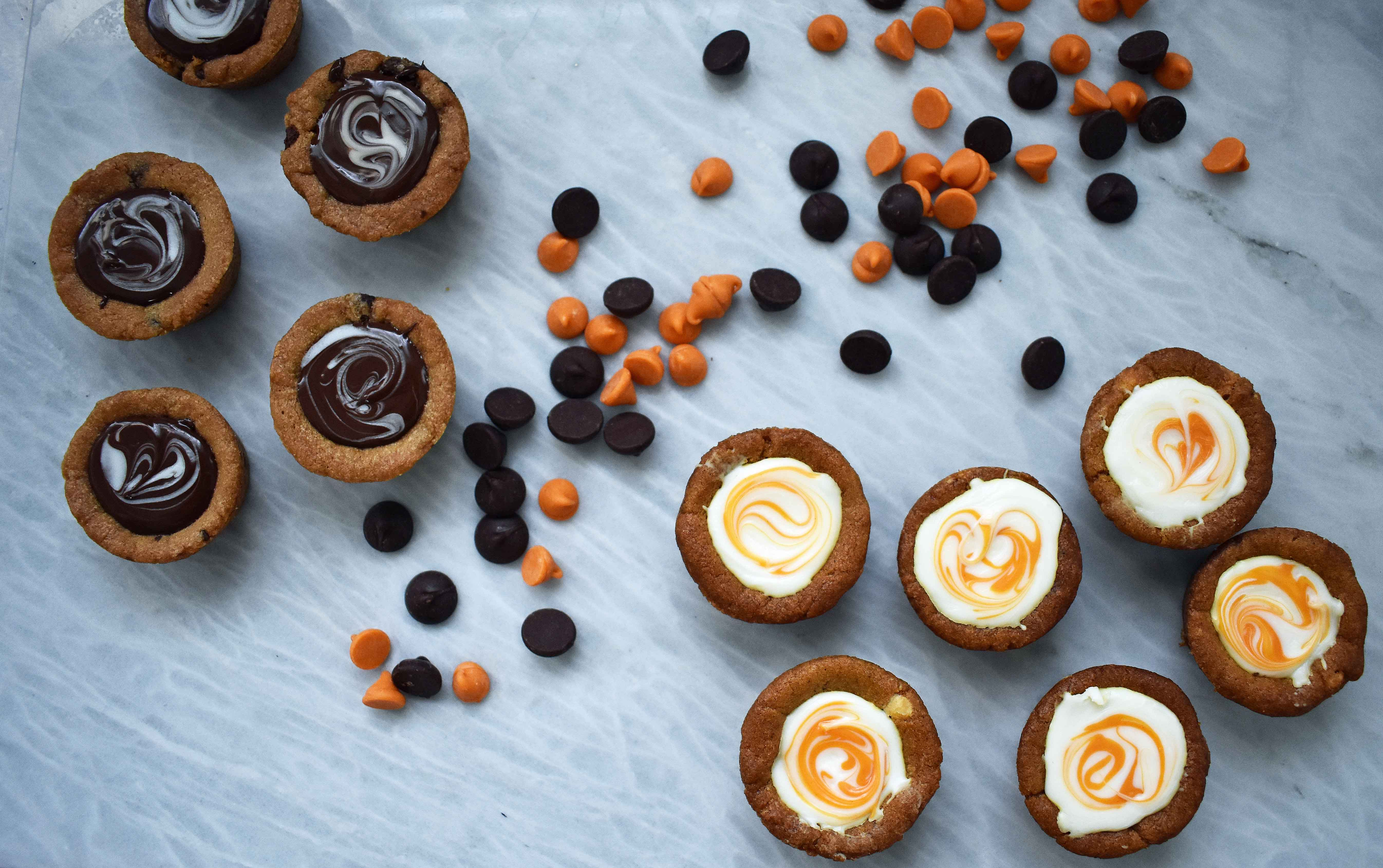 Chocolate Ganache Filled Cookie Cups. Bake Some Good by Nestle. #BakeSomeGood