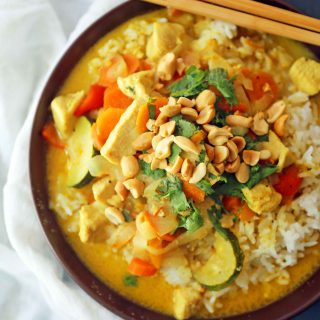 Thai Chicken Curry Bowls