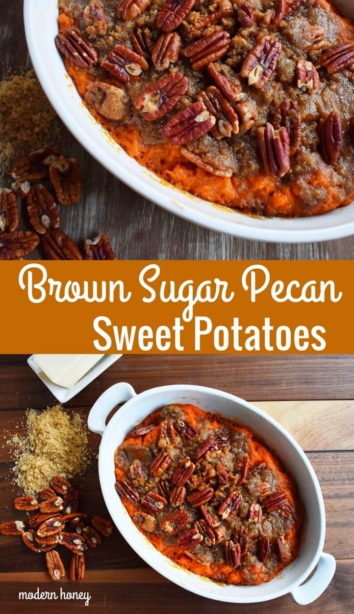 Sweet Potato Brown Sugar Pecan Bake