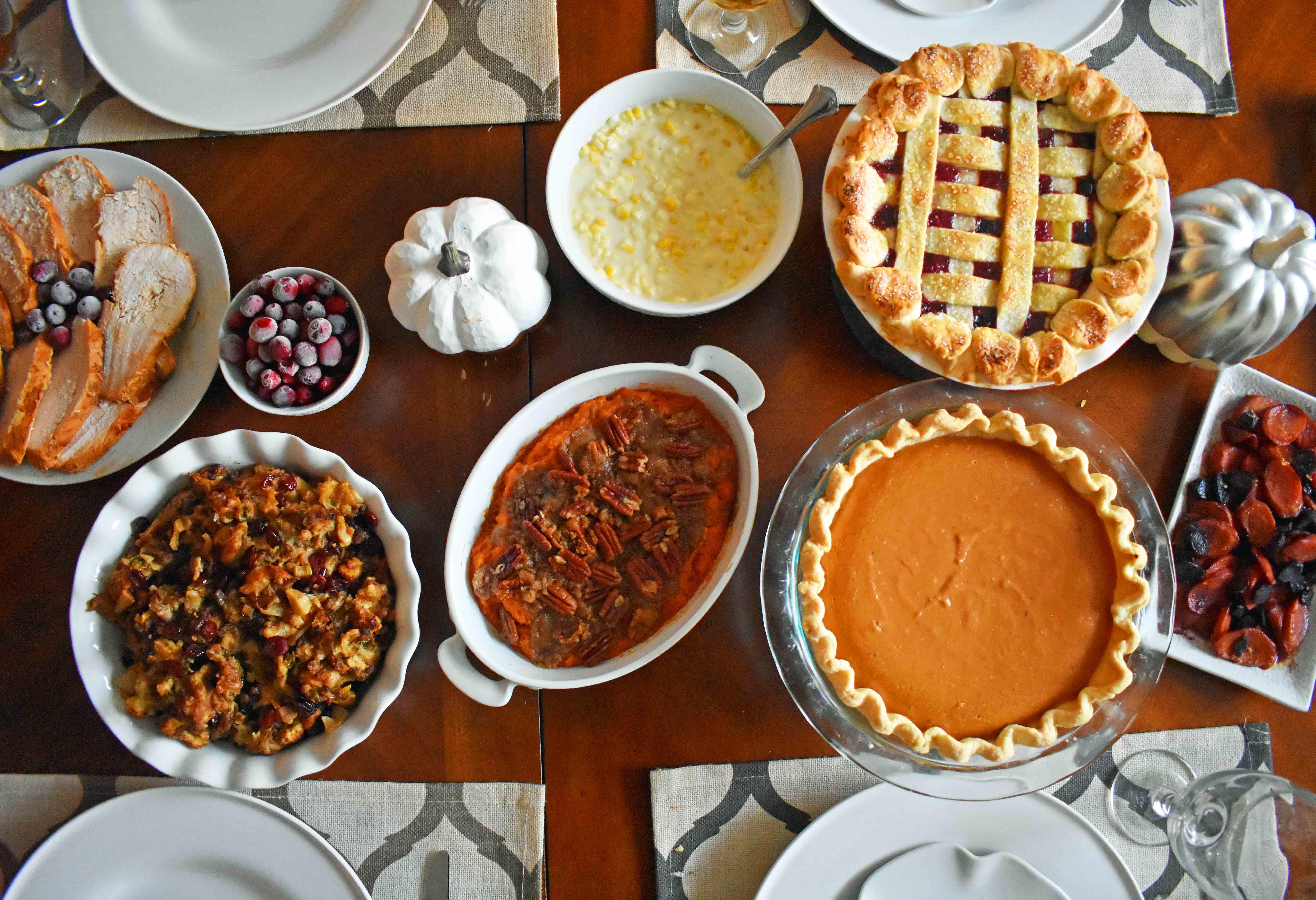 Modern Honey Thanksgiving