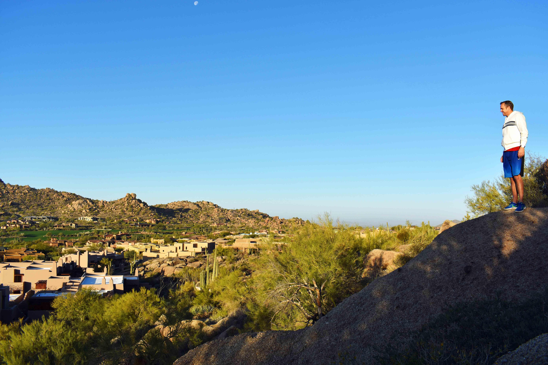 Arizona Four Seasons Christms + Homemade Hot Chocolate. Hiking at Four Seasons Scottsdale Troon North.