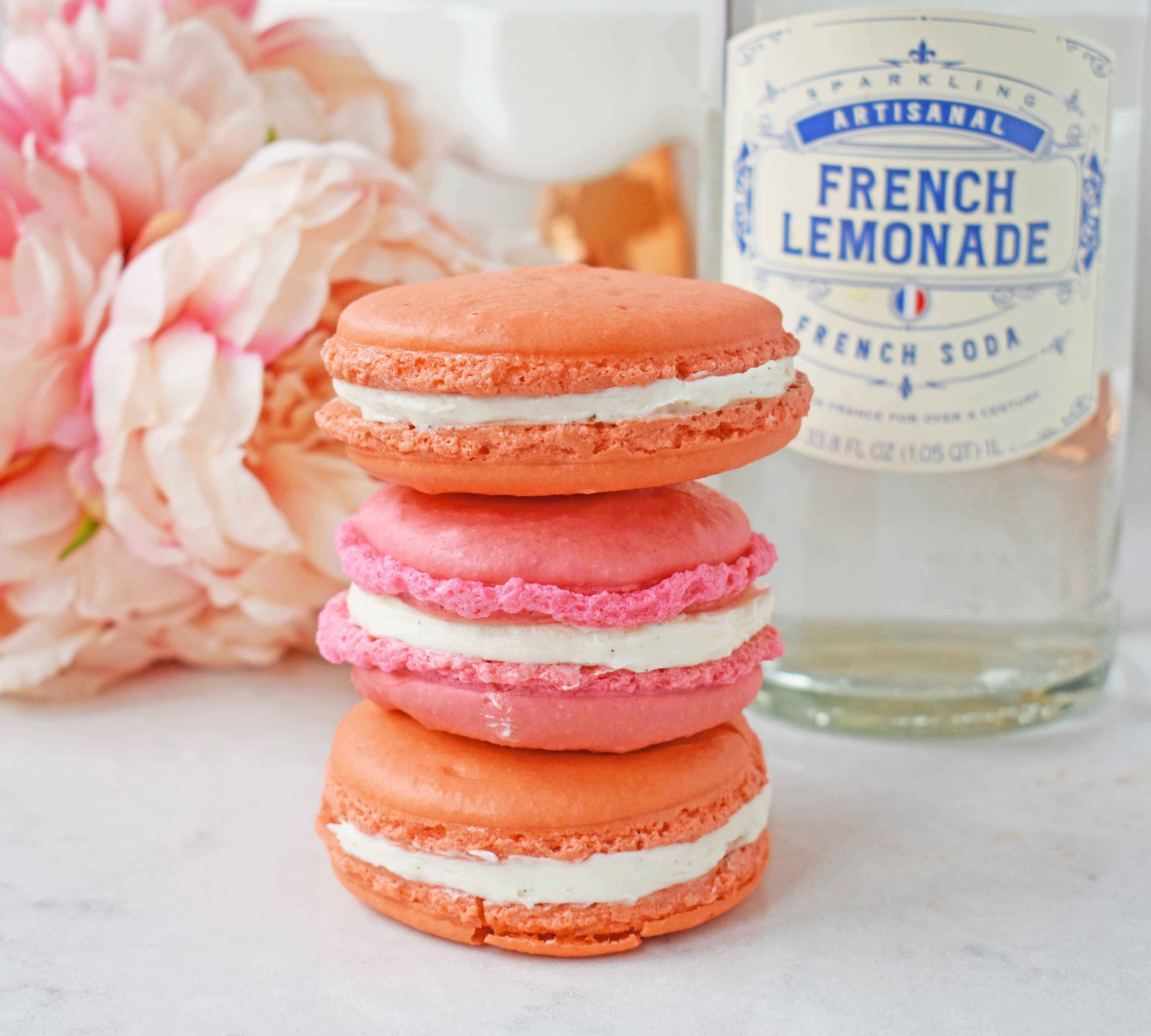 How to make home French Macarons at home. Step by step instructions and tips and tricks for making these popular french cookies. Naturally gluten-free cookies. www.modernhoney.com