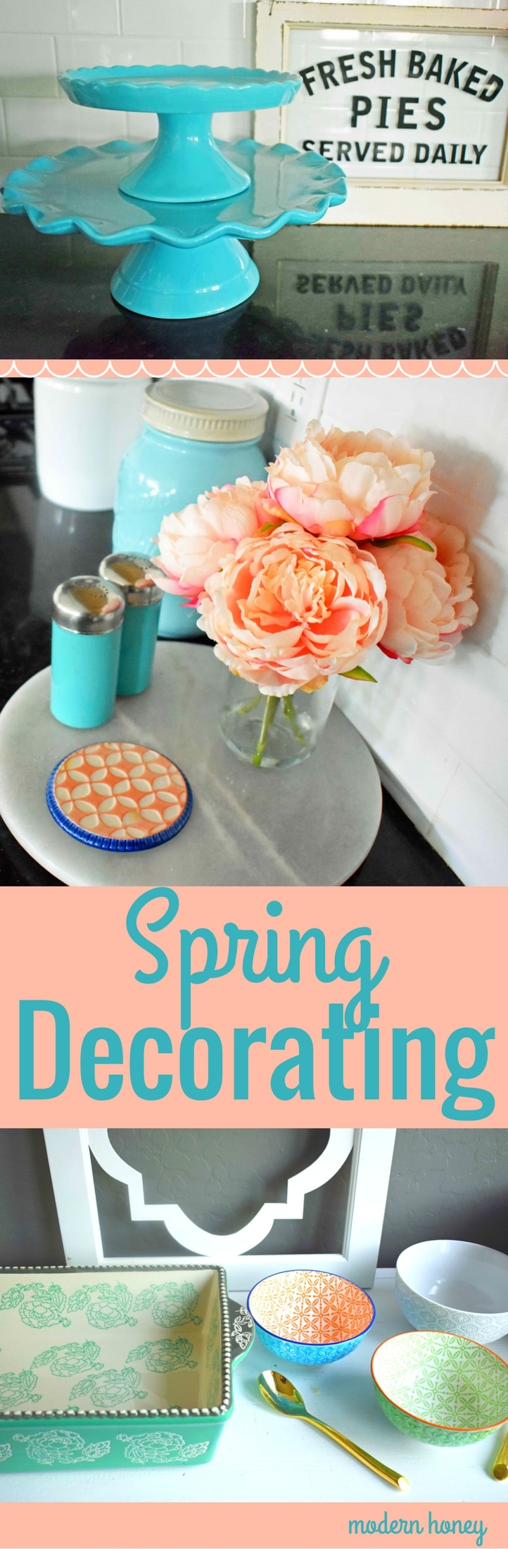 Spring Decorating Ideas. Light and bright ways to transform your space using soft florals, bright whites, and gorgeous tablescapes. Sharing where to buy stylish design pieces for a great price. www.modernhoney.com