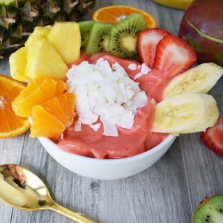 Kissed by Sunshine Smoothie Bowl