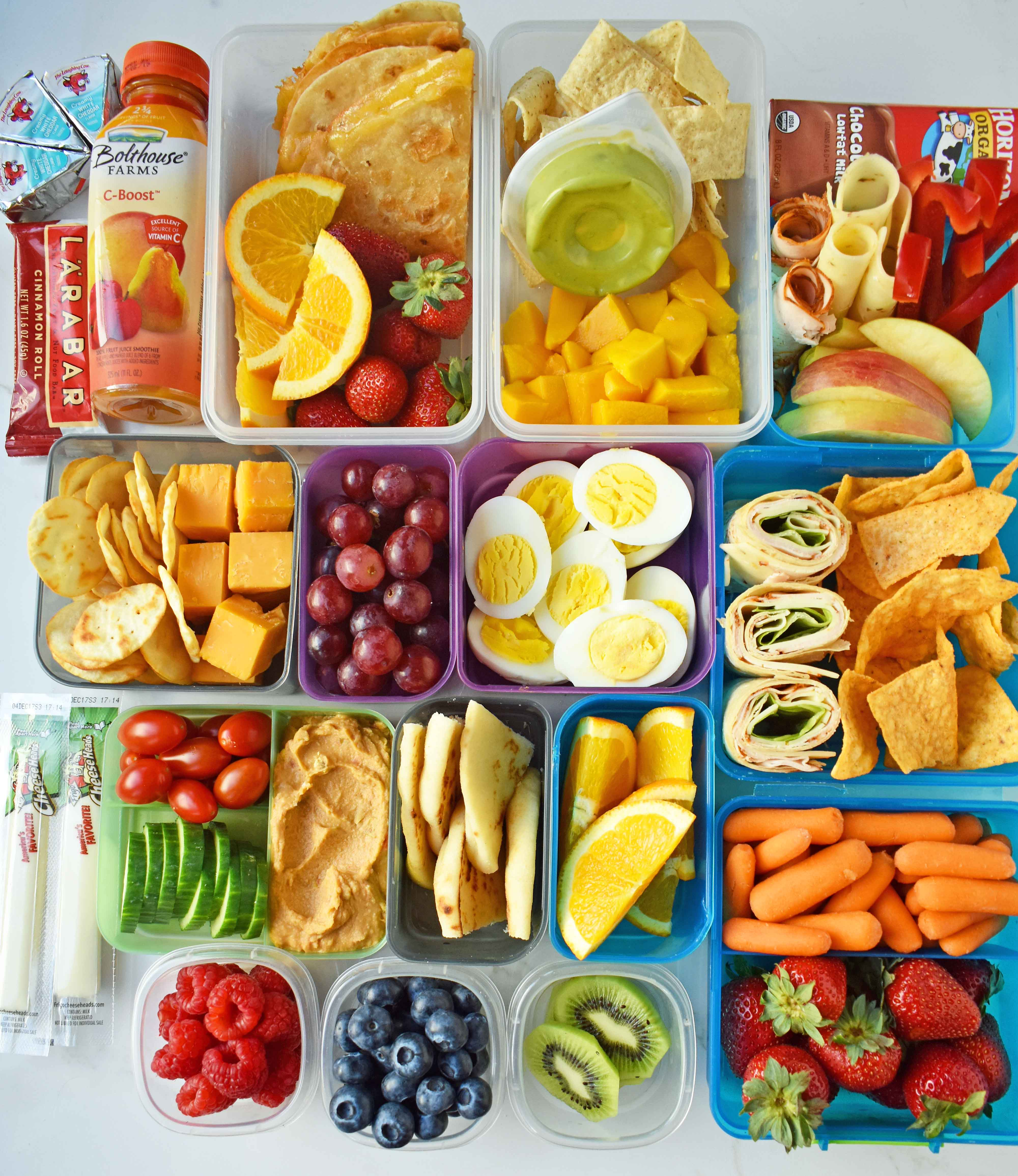 Back To School Kids Lunch Ideas Healthy That Includes Wraps Roll