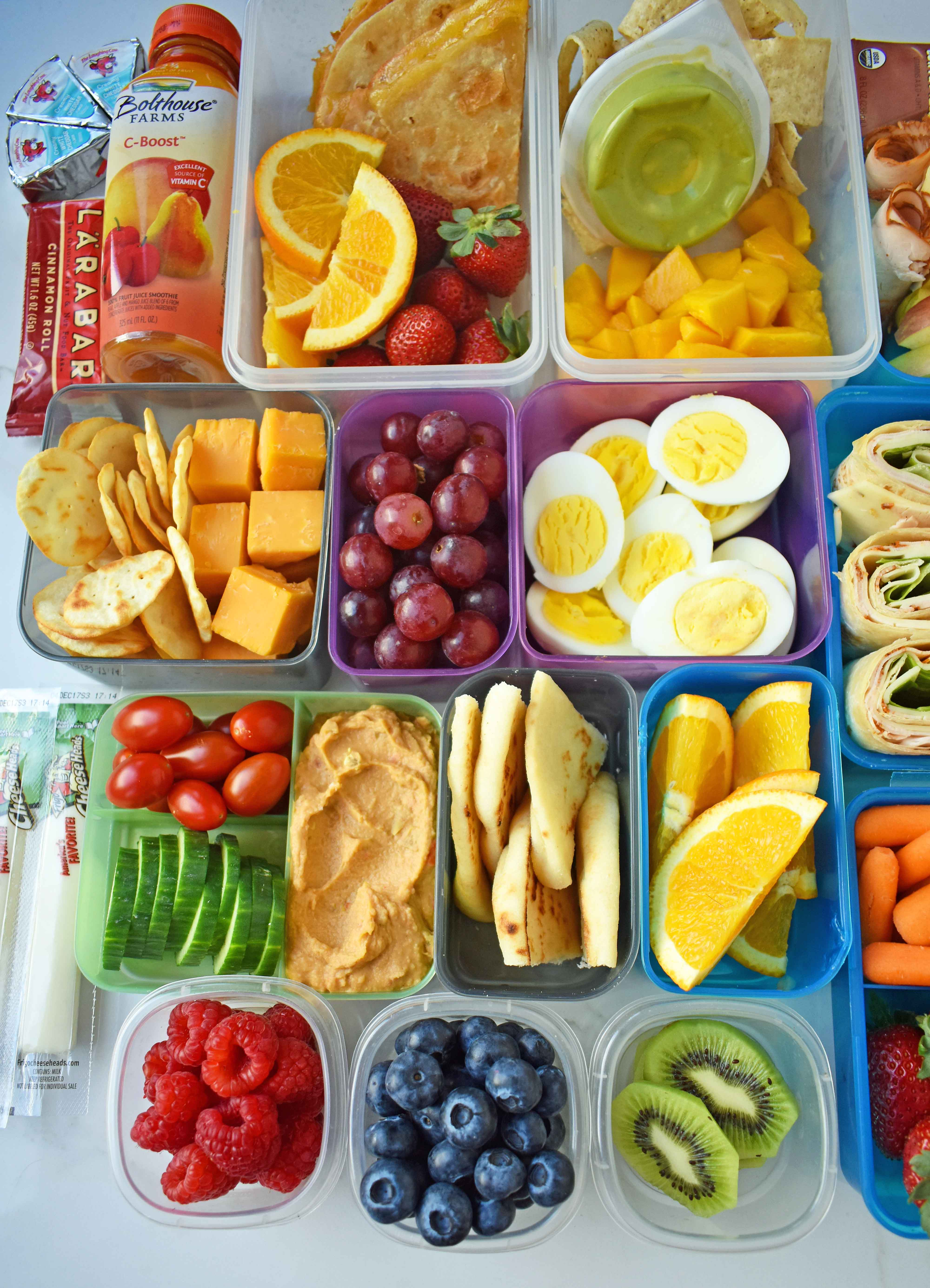 Back to school kids lunch ideas modern honey for Lunch food ideas
