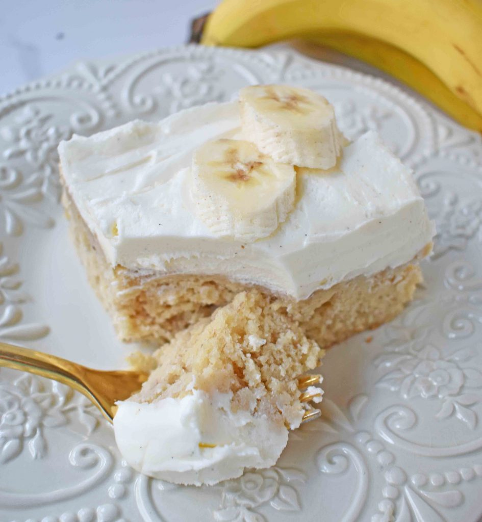 Jeff's BEST Banana Cake Recipe