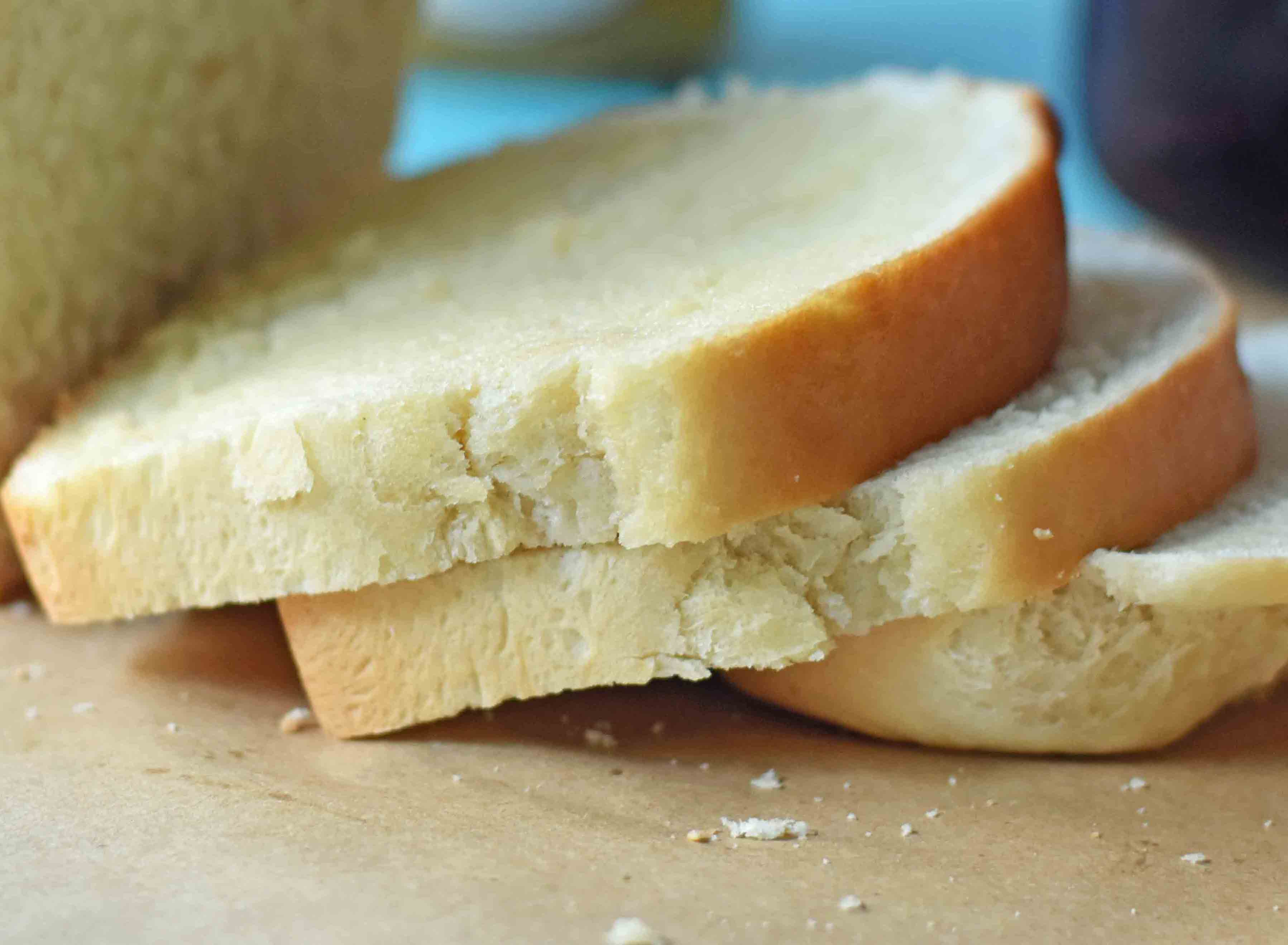 Miracle One Hour White Bread. Homemade bread made in one hour. Quick and easy homemade bread. www.modernhoney.com